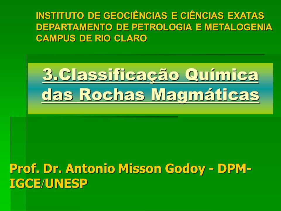 3.Classificação Química das Rochas Magmáticas