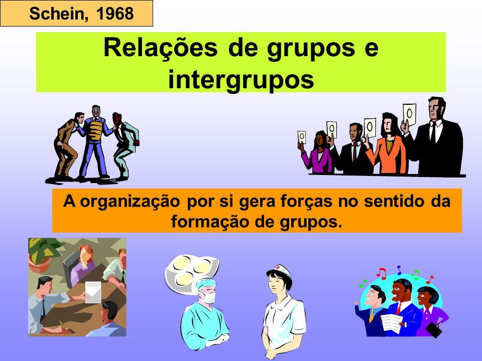 Relações de grupos e intergrupos