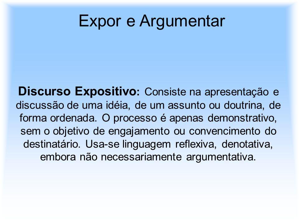Expor e Argumentar