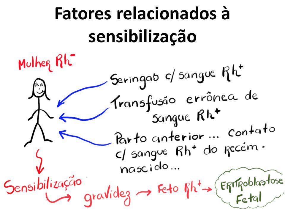 Fatores relacionados à sensibilização