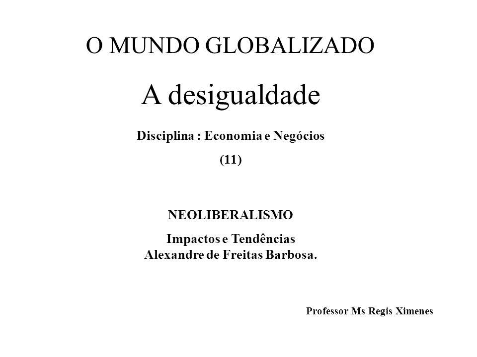 A desigualdade Disciplina : Economia e Negócios