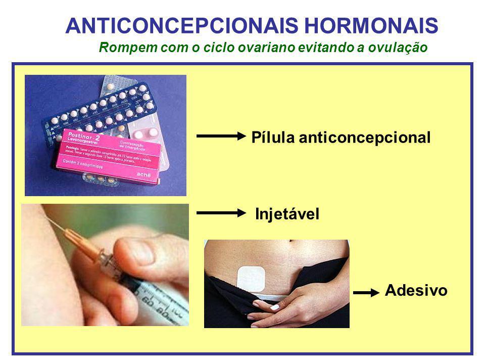 ANTICONCEPCIONAIS HORMONAIS