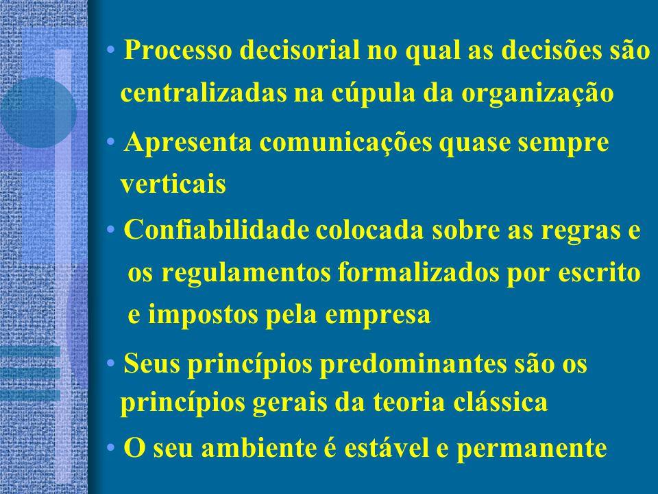Processo decisorial no qual as decisões são