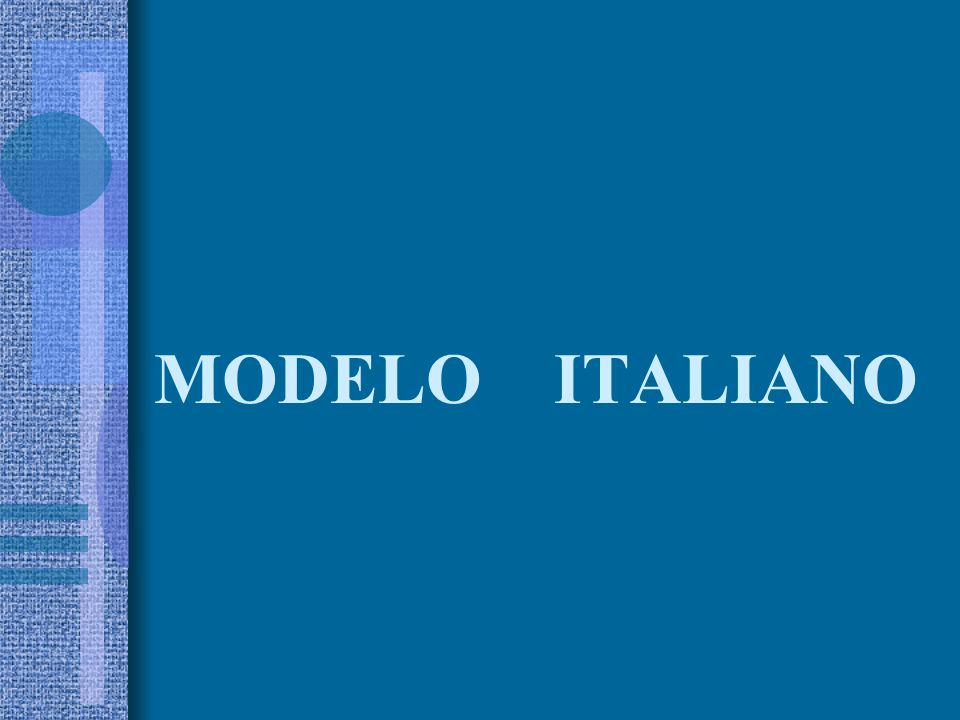 MODELO ITALIANO