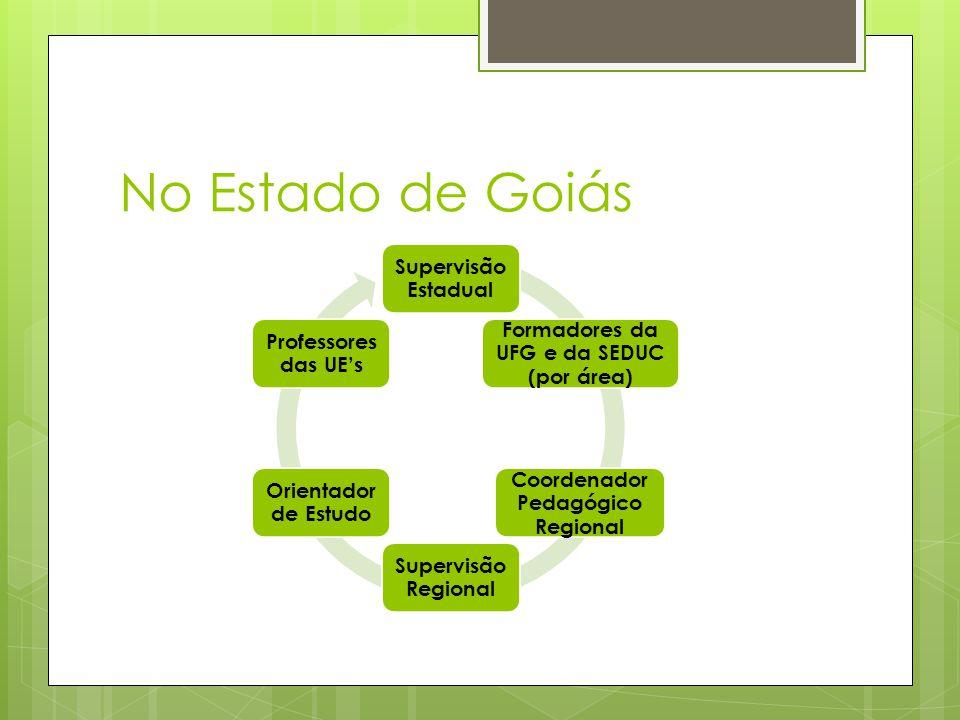 No Estado de Goiás Supervisão Estadual