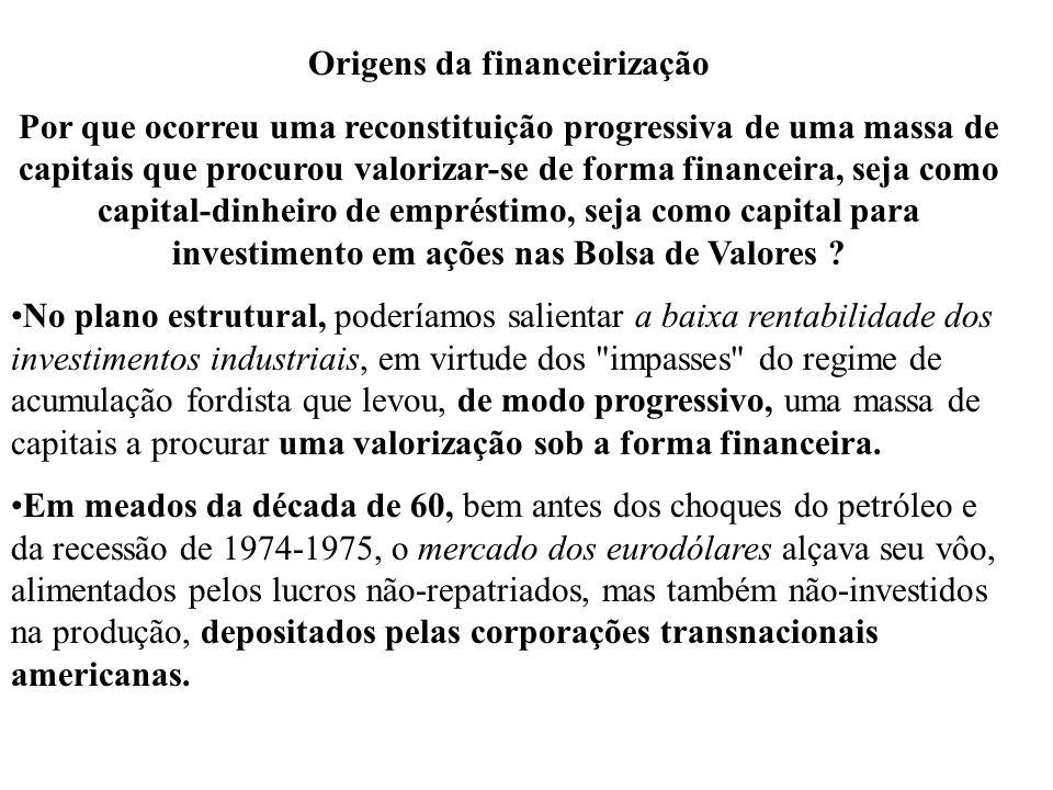 Origens da financeirização