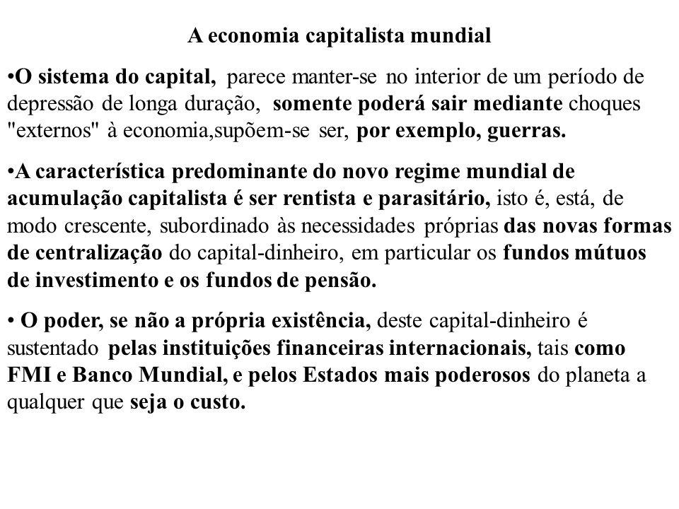 A economia capitalista mundial