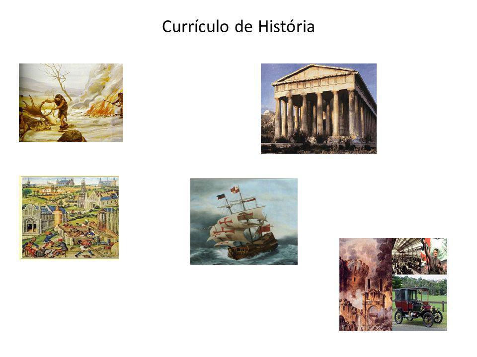 Currículo de História
