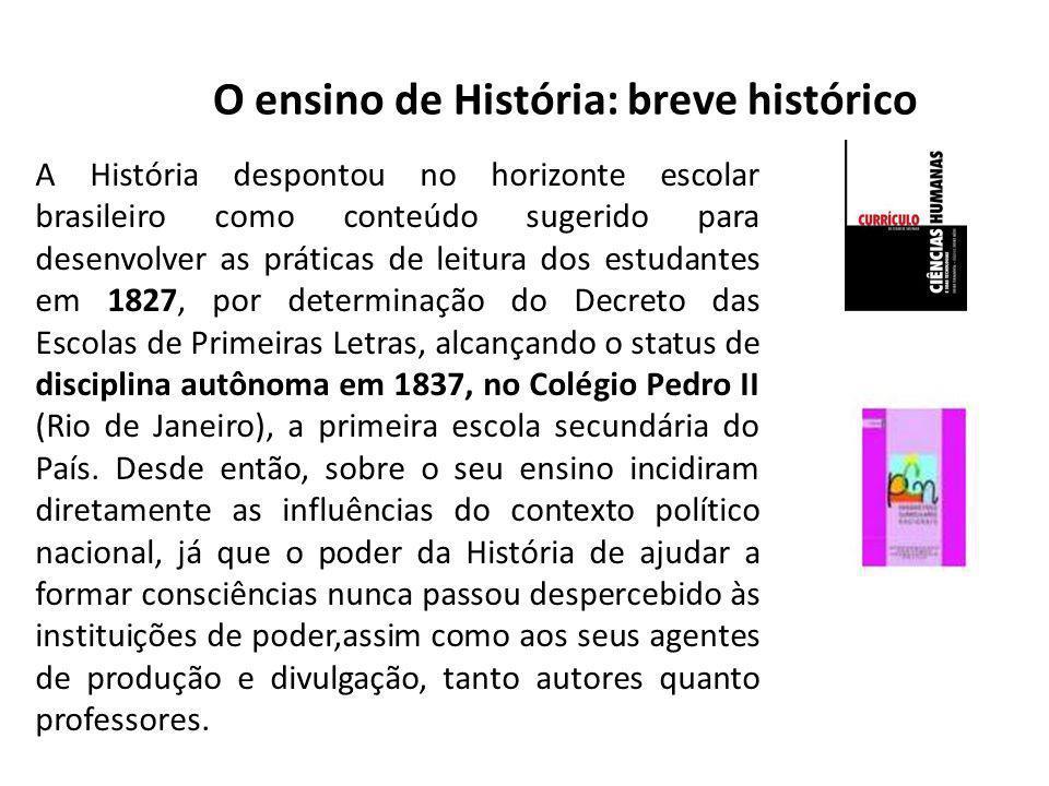 O ensino de História: breve histórico