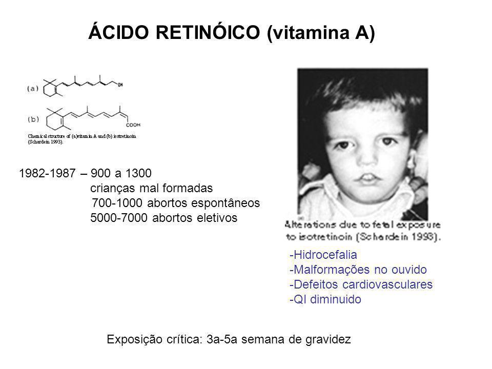 ÁCIDO RETINÓICO (vitamina A)