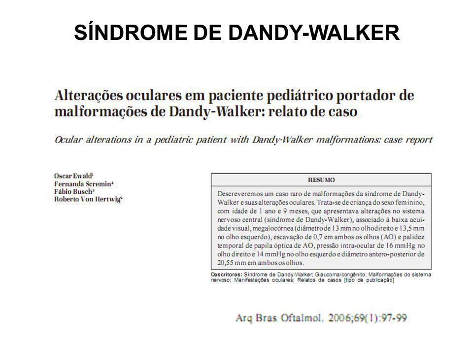 SÍNDROME DE DANDY-WALKER