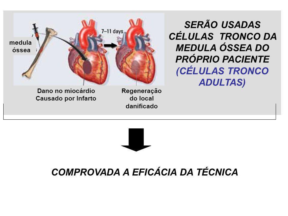 COMPROVADA A EFICÁCIA DA TÉCNICA