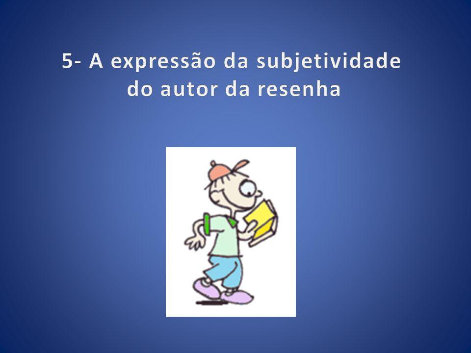 5- A expressão da subjetividade