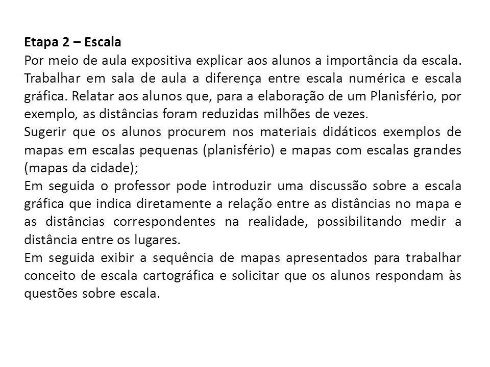 Etapa 2 – Escala