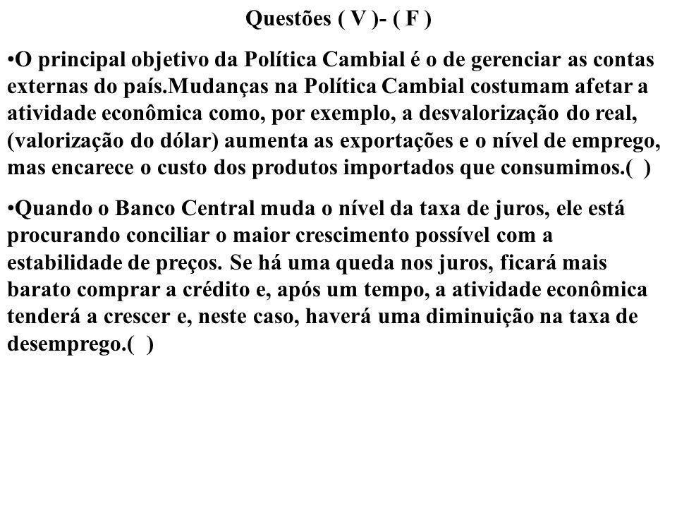 Questões ( V )- ( F )
