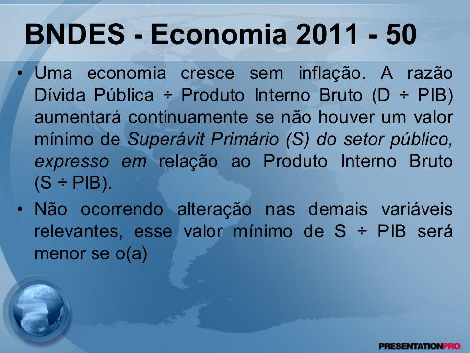 BNDES - Economia 2011 - 50