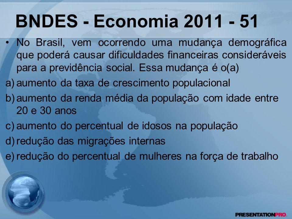 BNDES - Economia 2011 - 51