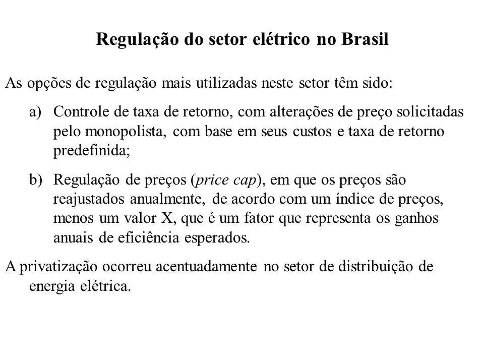 Regulação do setor elétrico no Brasil