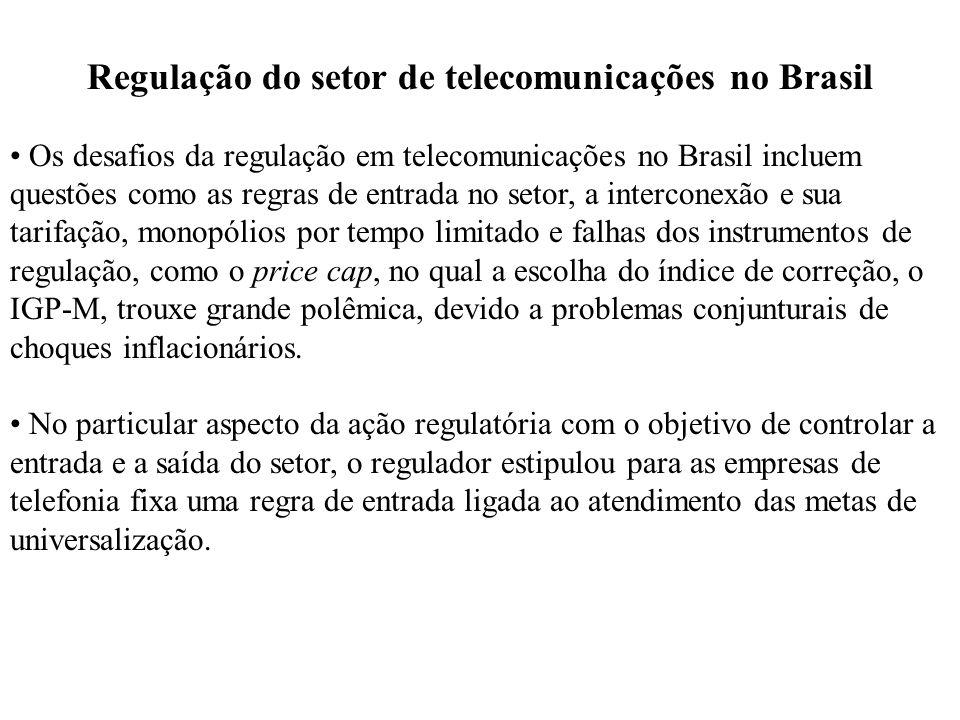 Regulação do setor de telecomunicações no Brasil
