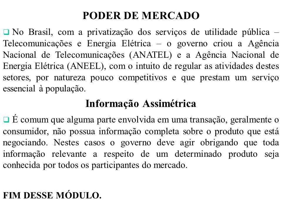 Informação Assimétrica