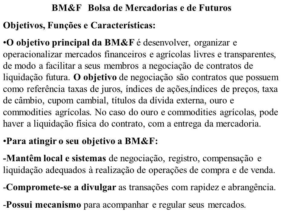 BM&F Bolsa de Mercadorias e de Futuros