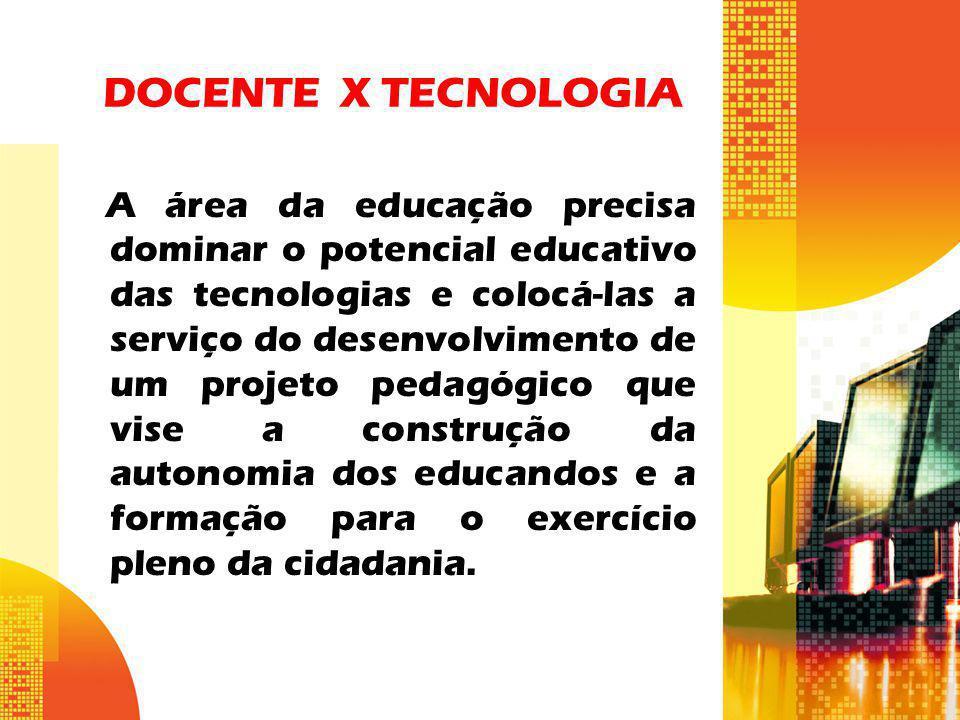 DOCENTE X TECNOLOGIA