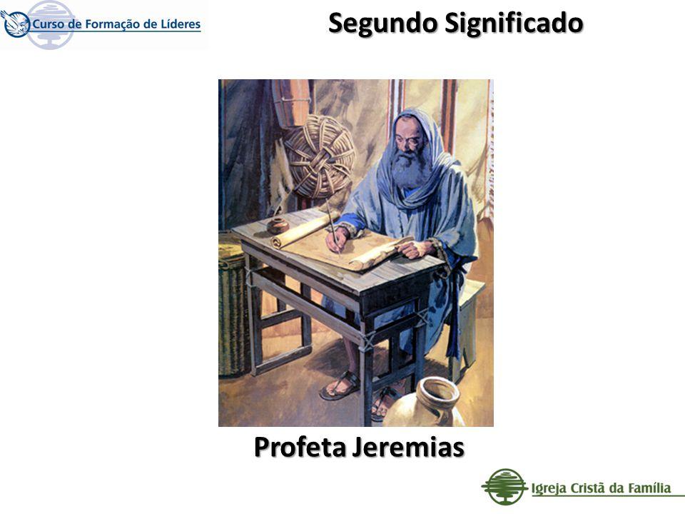 Segundo Significado Profeta Jeremias