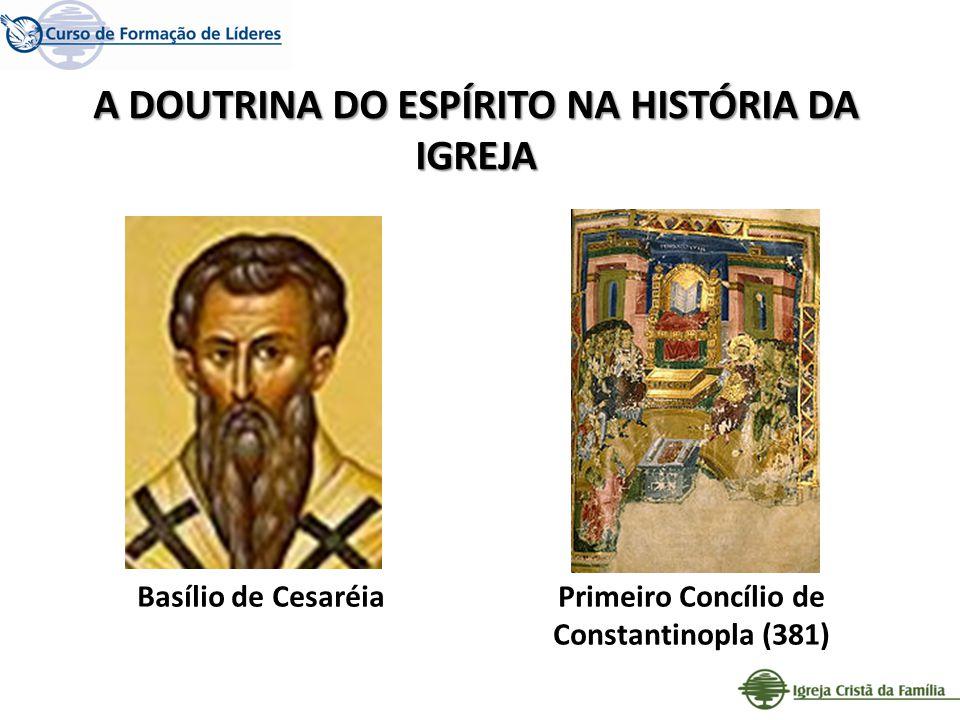 A DOUTRINA DO ESPÍRITO NA HISTÓRIA DA IGREJA