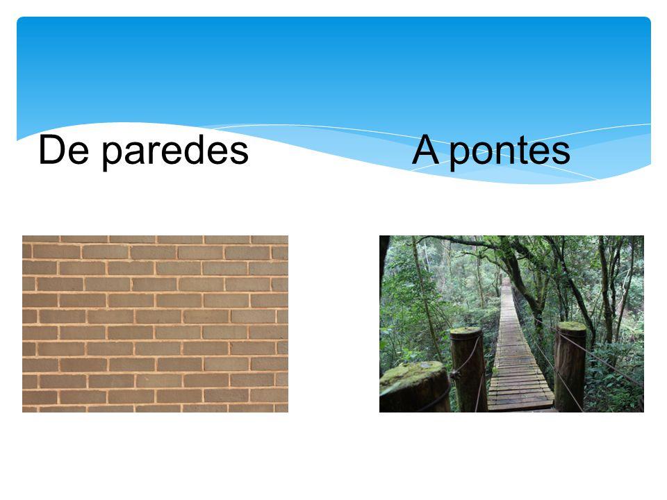 De paredes A pontes