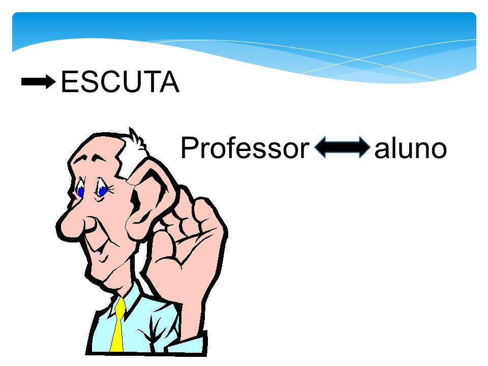ESCUTA Professor aluno