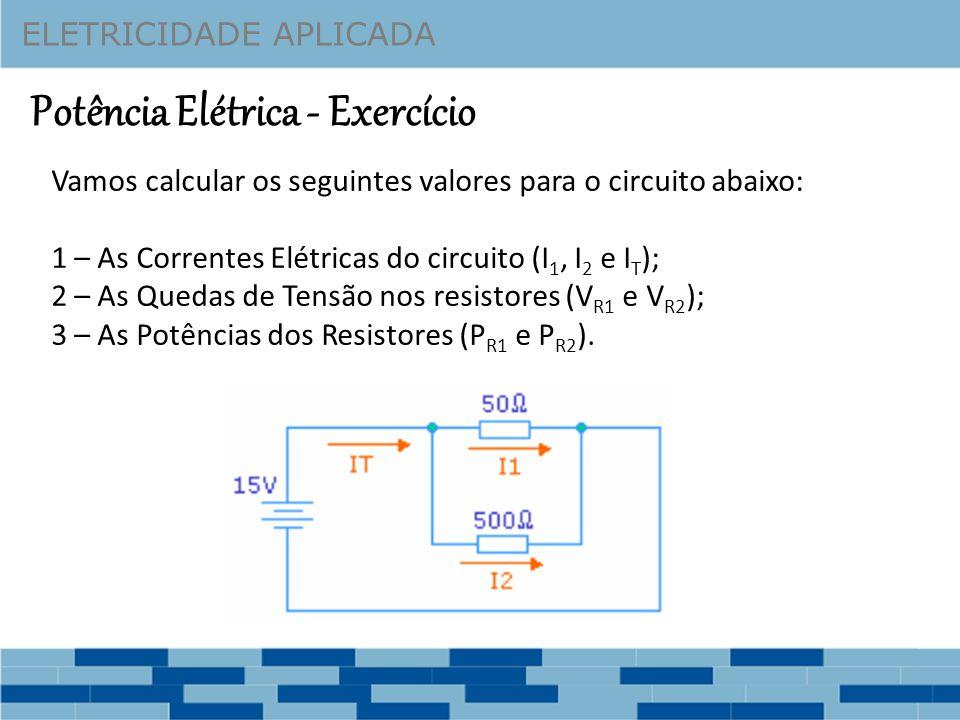 Potência Elétrica - Exercício