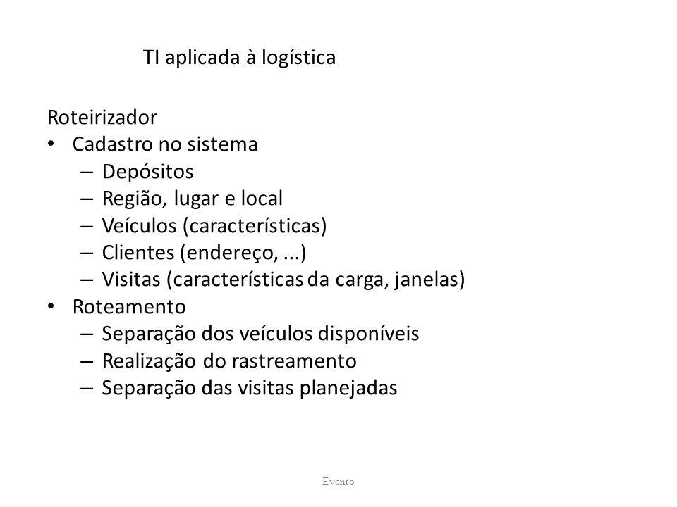 TI aplicada à logística
