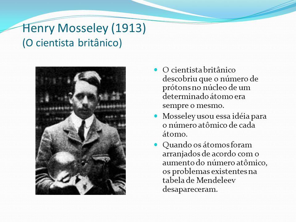 Henry Mosseley (1913) (O cientista britânico)