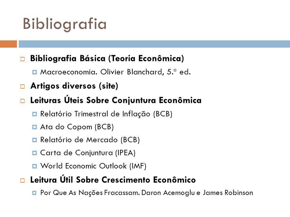 Bibliografia Bibliografia Básica (Teoria Econômica)