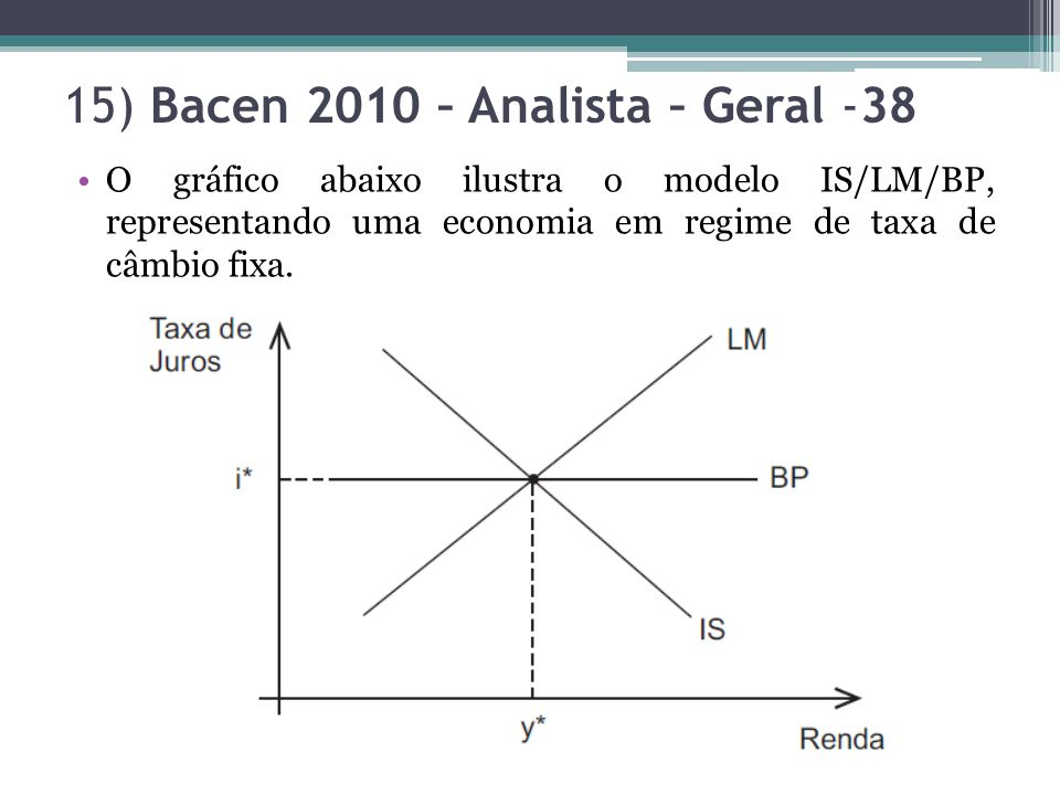 15) Bacen 2010 – Analista – Geral -38