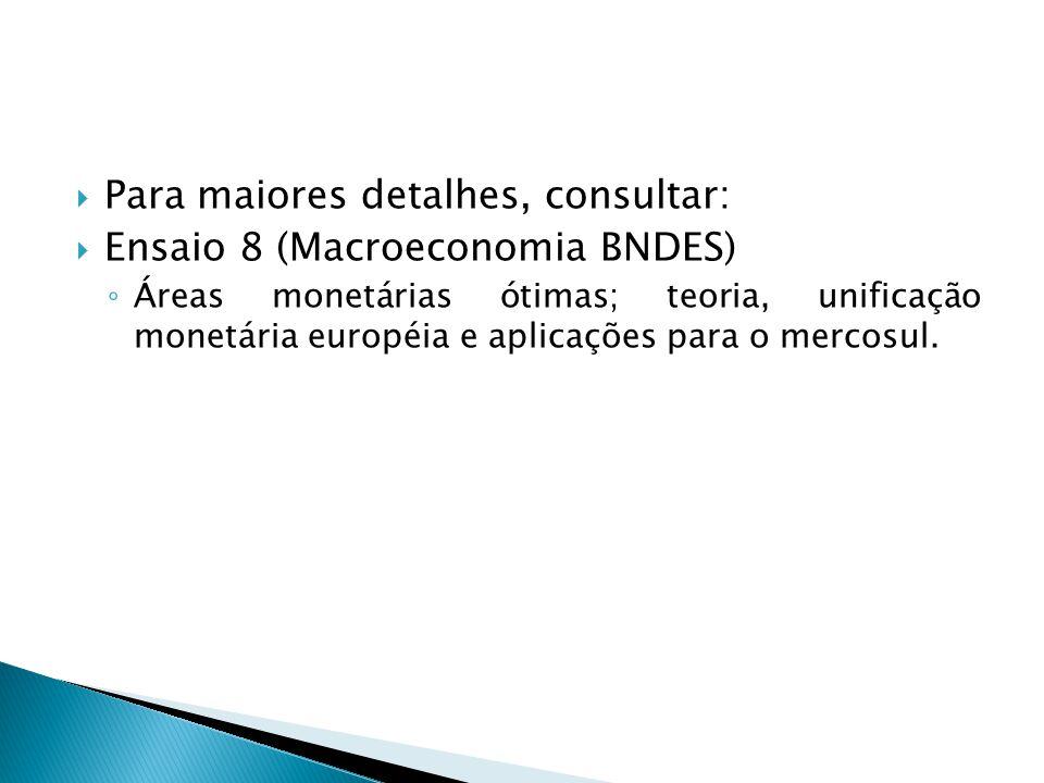 Para maiores detalhes, consultar: Ensaio 8 (Macroeconomia BNDES)