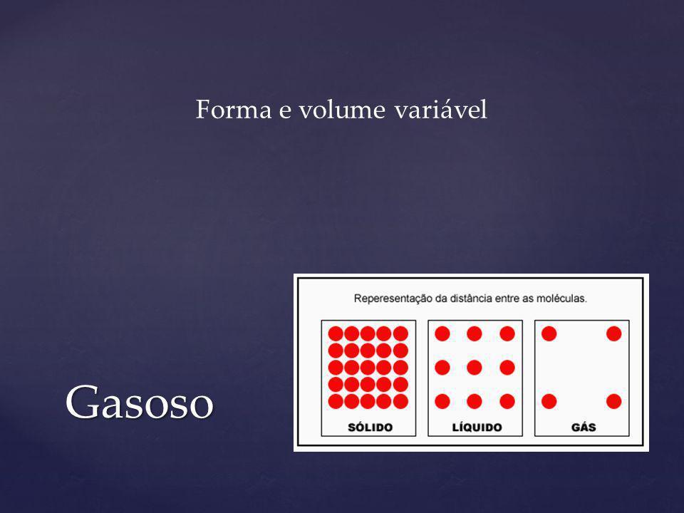 Forma e volume variável