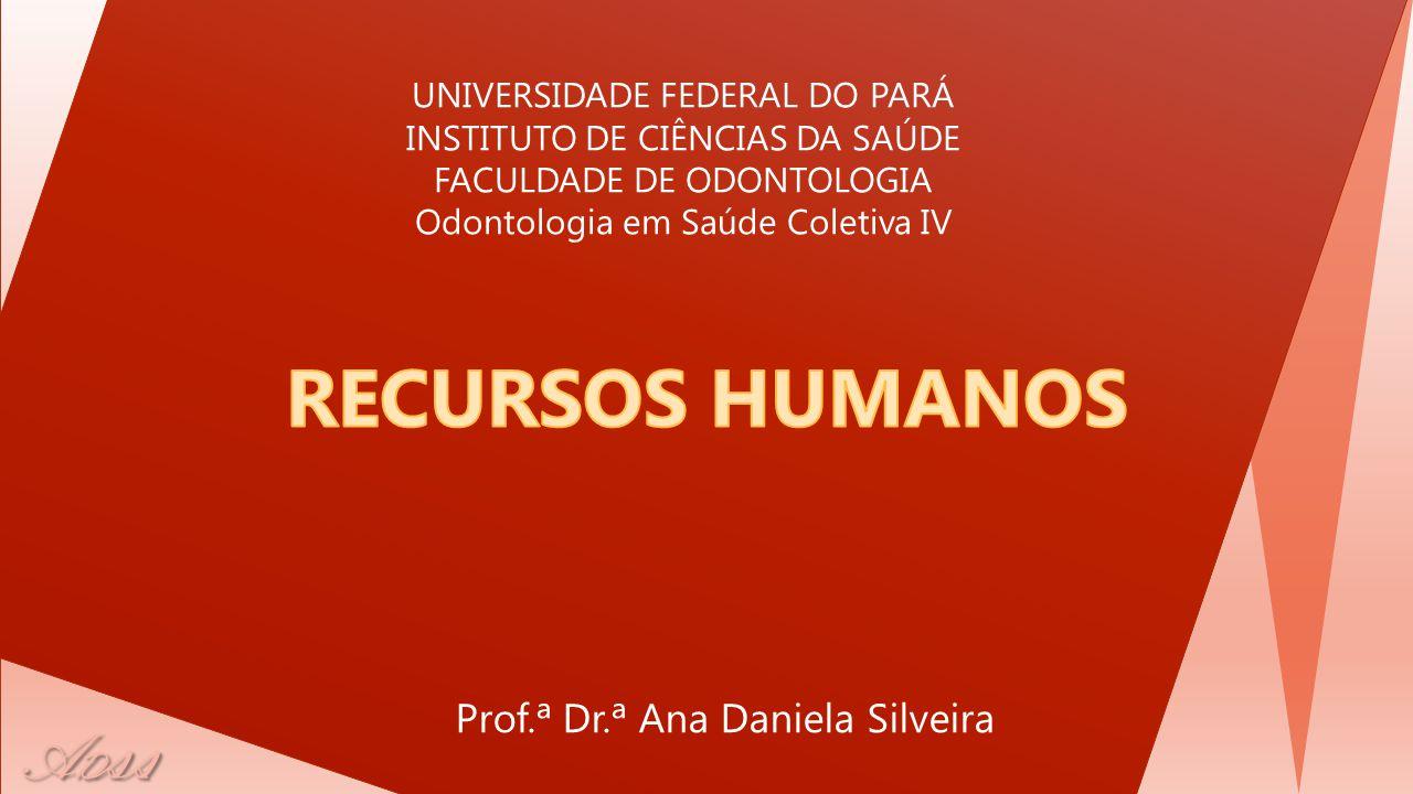 RECURSOS HUMANOS Prof.ª Dr.ª Ana Daniela Silveira