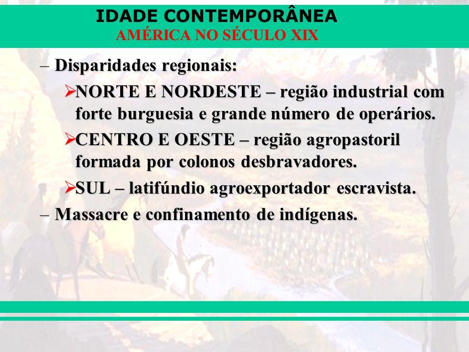 Disparidades regionais: