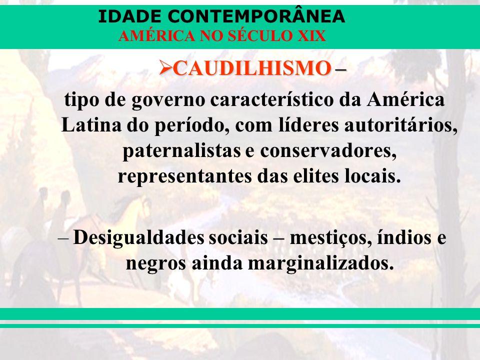 CAUDILHISMO –