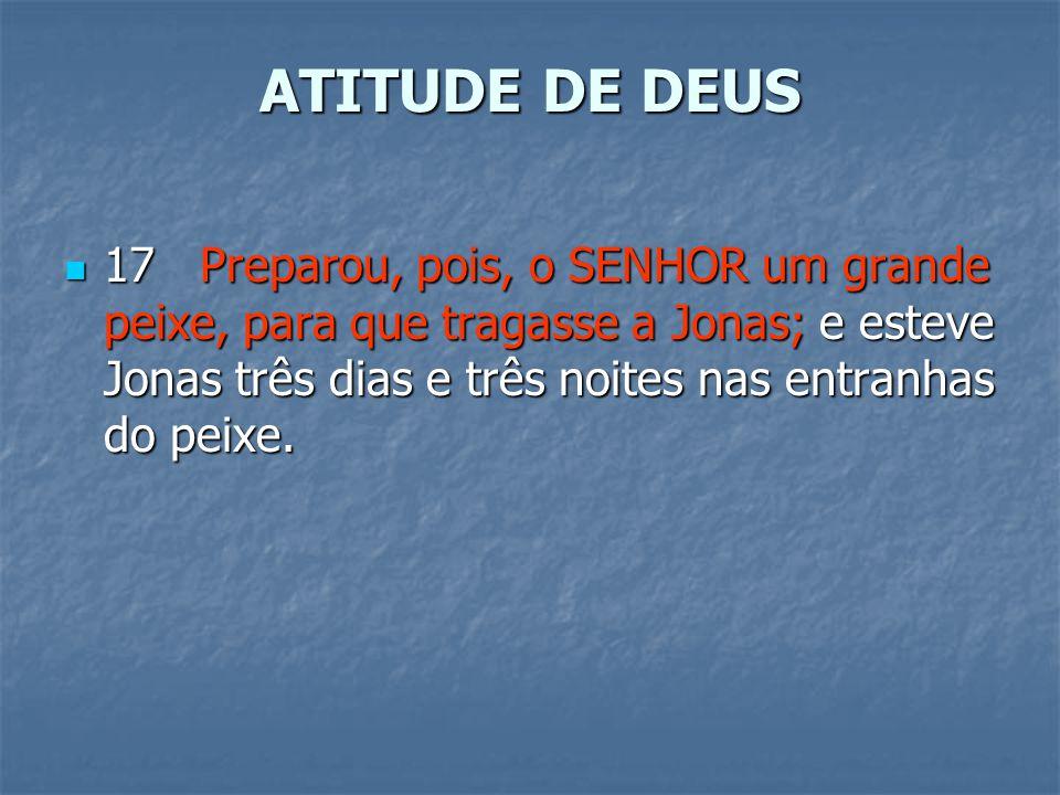 ATITUDE DE DEUS
