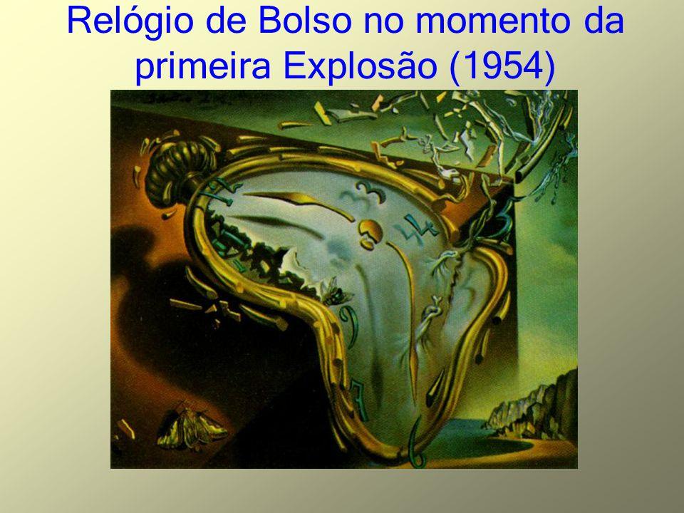 Relógio de Bolso no momento da primeira Explosão (1954)