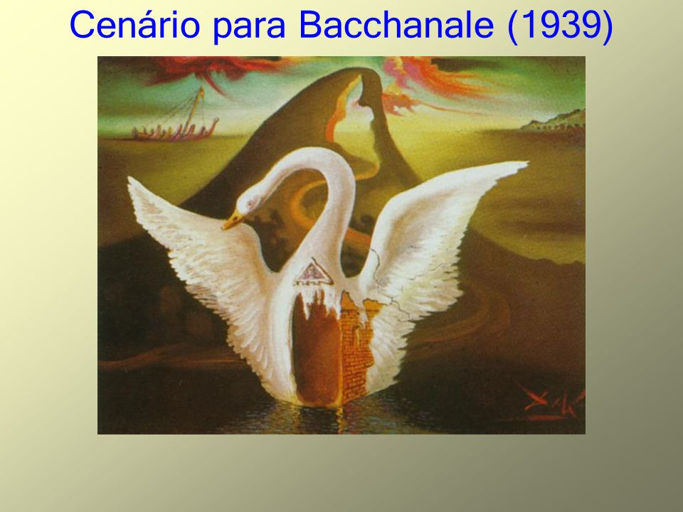 Cenário para Bacchanale (1939)