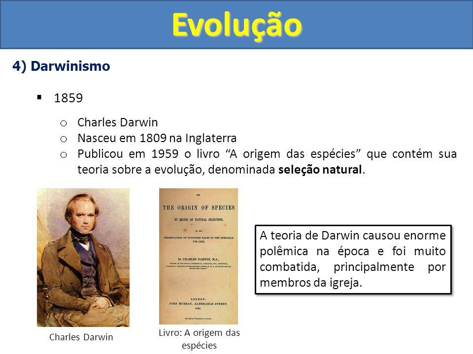 Livro: A origem das espécies