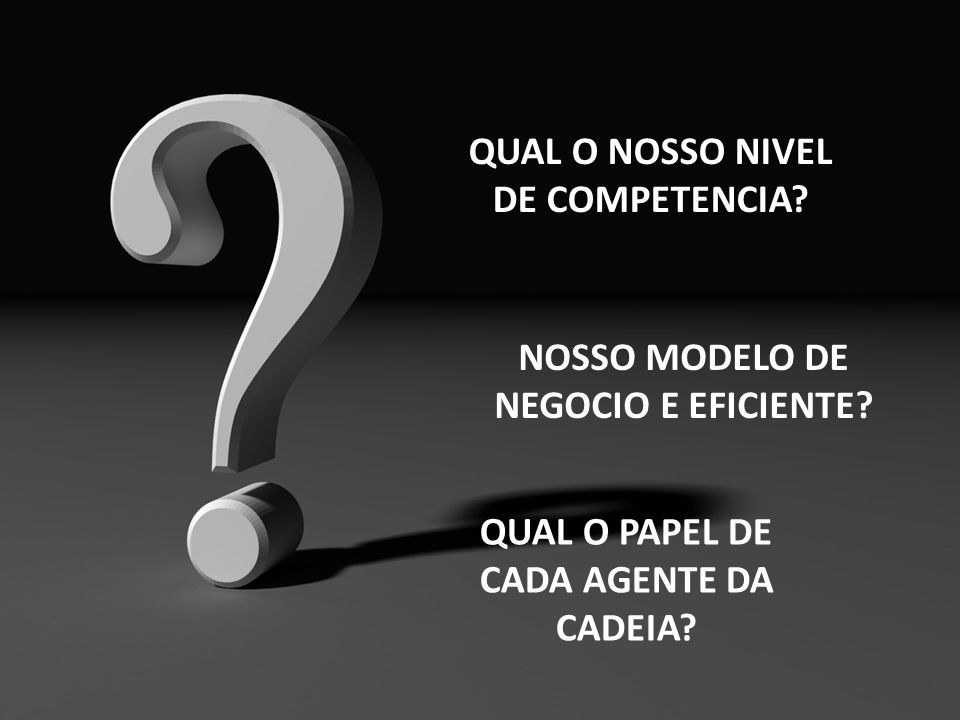 QUAL O NOSSO NIVEL DE COMPETENCIA