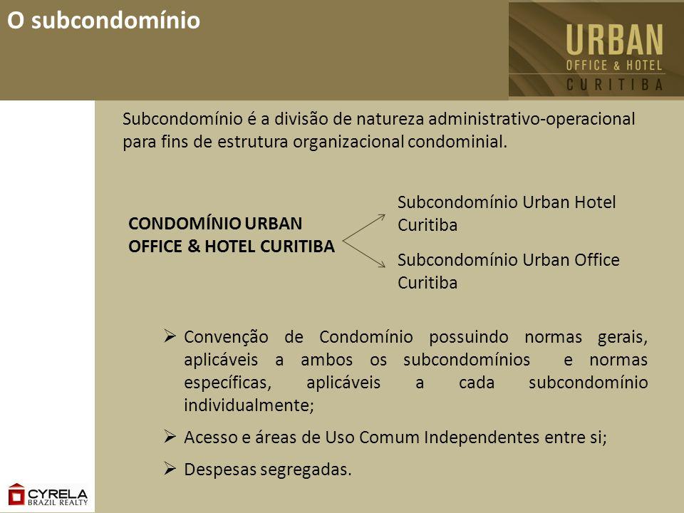 O subcondomínio Subcondomínio é a divisão de natureza administrativo-operacional para fins de estrutura organizacional condominial.