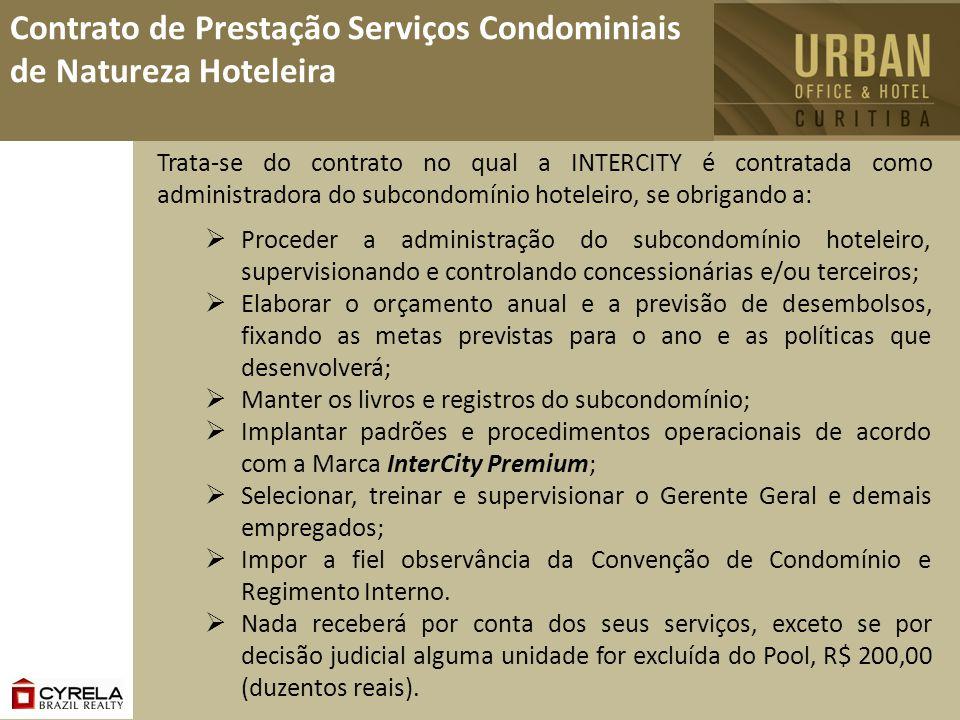 Contrato de Prestação Serviços Condominiais de Natureza Hoteleira
