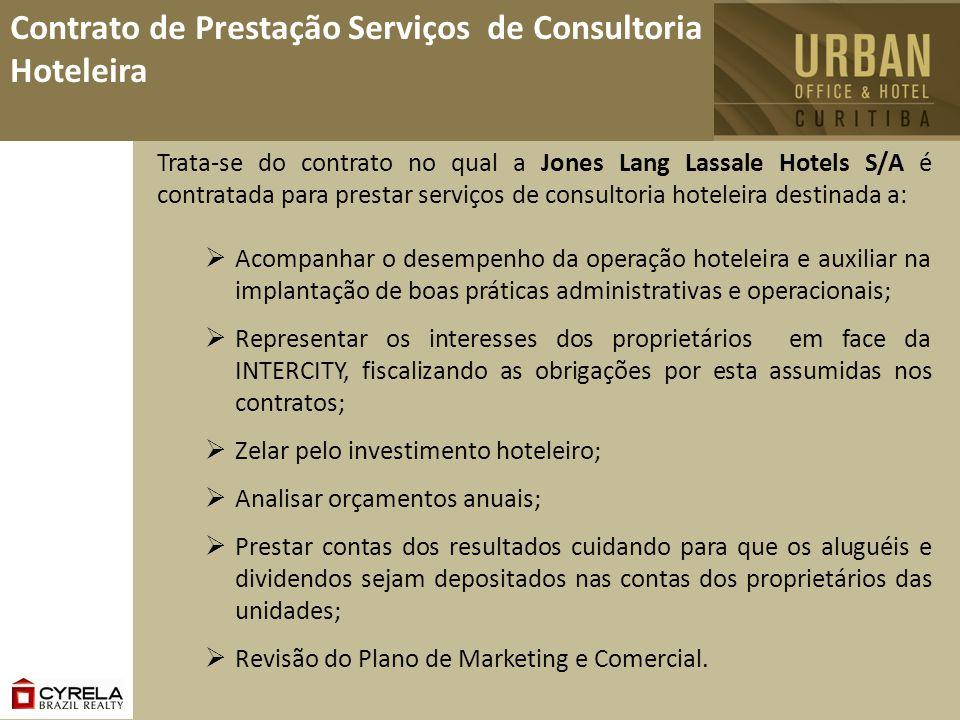 Contrato de Prestação Serviços de Consultoria Hoteleira