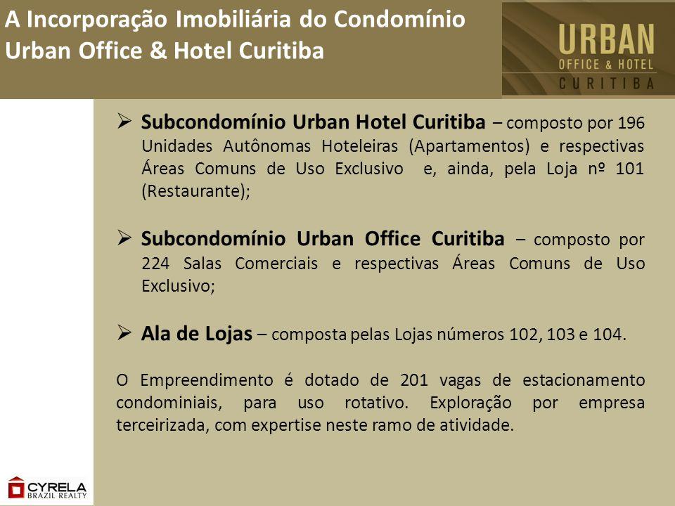 A Incorporação Imobiliária do Condomínio Urban Office & Hotel Curitiba