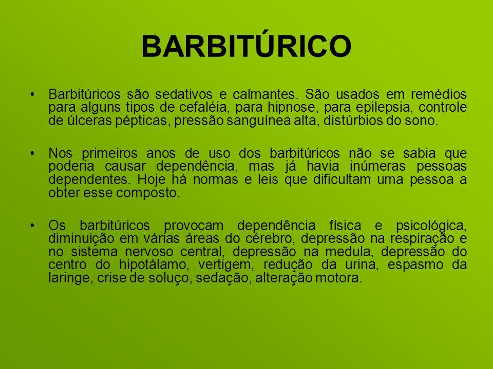 BARBITÚRICO